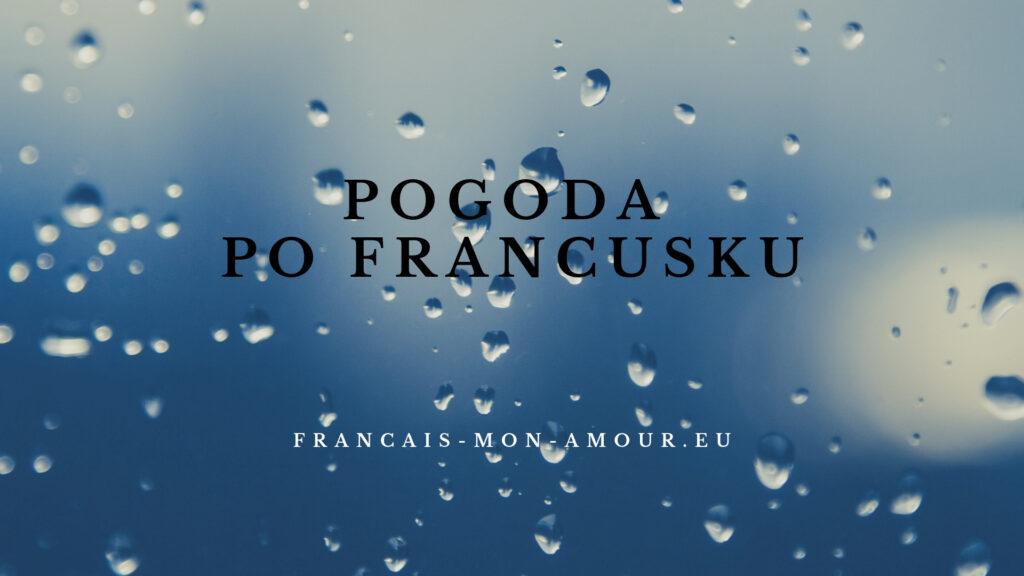 pogoda po francusku